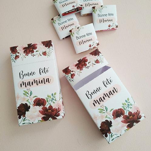 ..Box 10 chocolats - Bonne fête Maman..