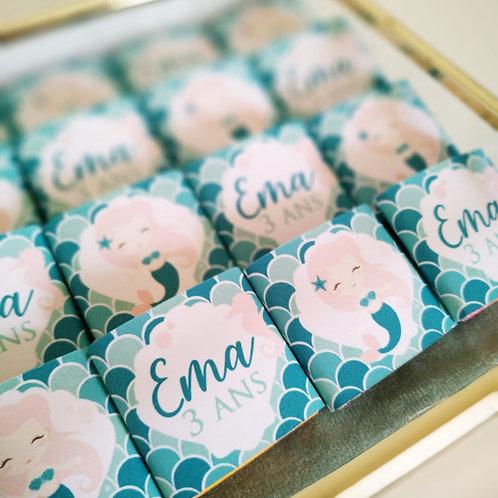 .. Petits Chocolats x10 - Anniversaire ..