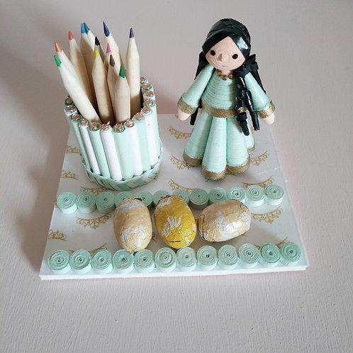 Princesse verte - Mamina Collection