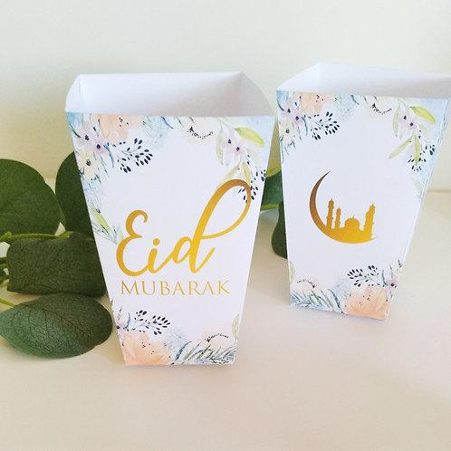 .. Pots à gourmandises x6- Eid Mubarak ..
