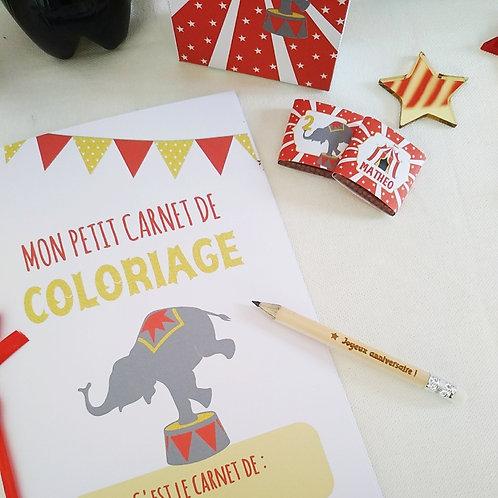 ..Carnet de coloriages - Circus ..