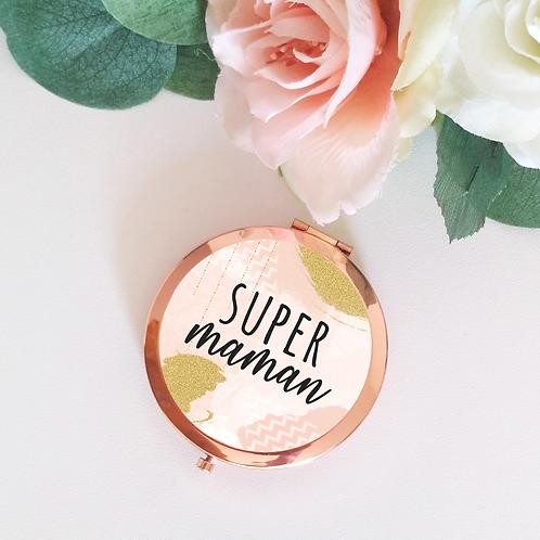 .. Joli miroir rose gold -  Maman ..