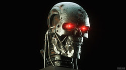 T800 robot from Terminator 2