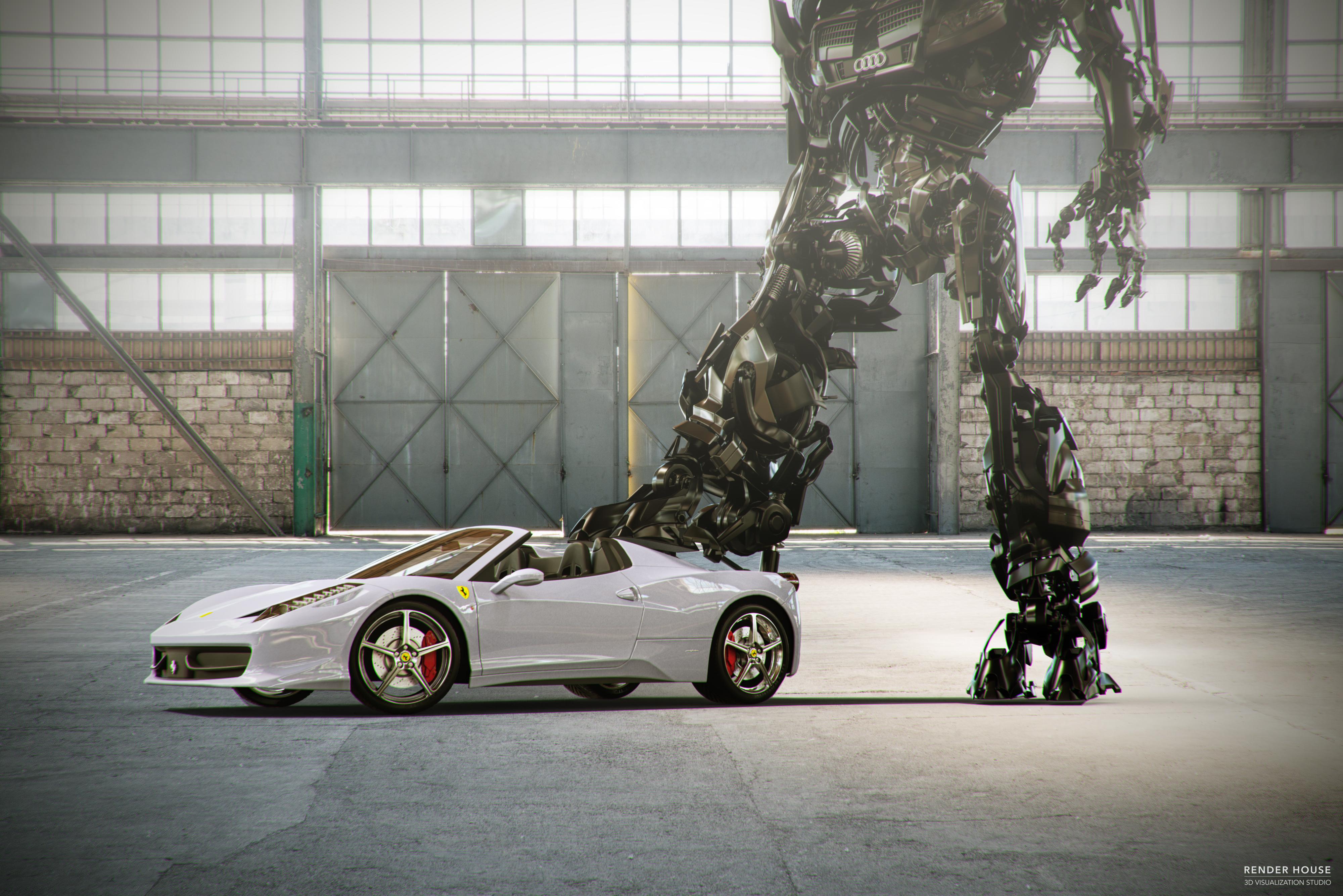 Ferrari and Transformers