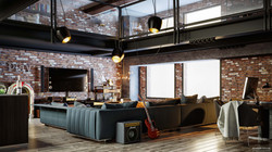 Loft House Corona Render