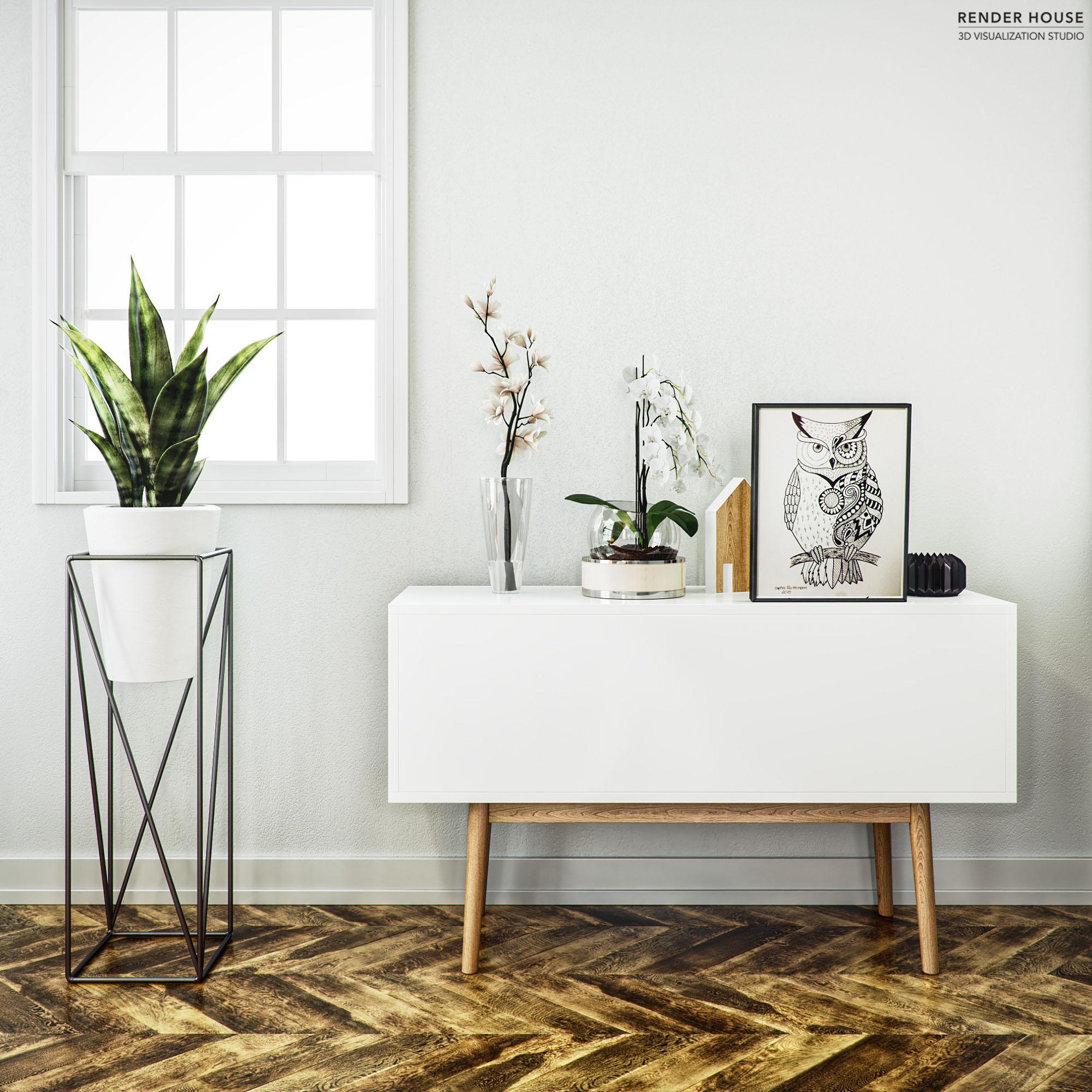 Interior Hyper realistic render