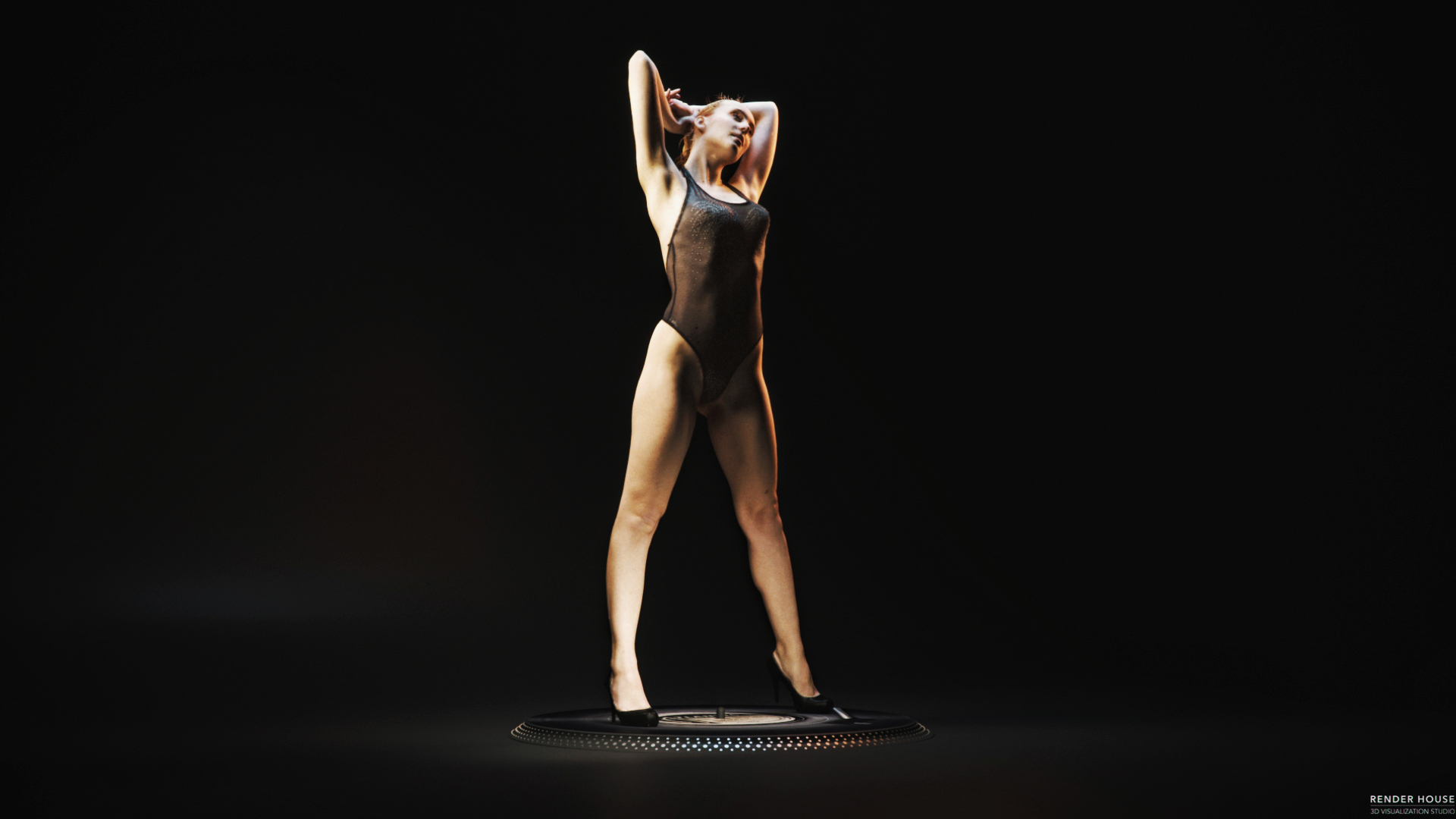 Dancer Girl-3D Scan