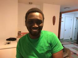 Julien Munganga. UQAR student.