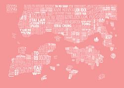 rose HONG KONG MAP
