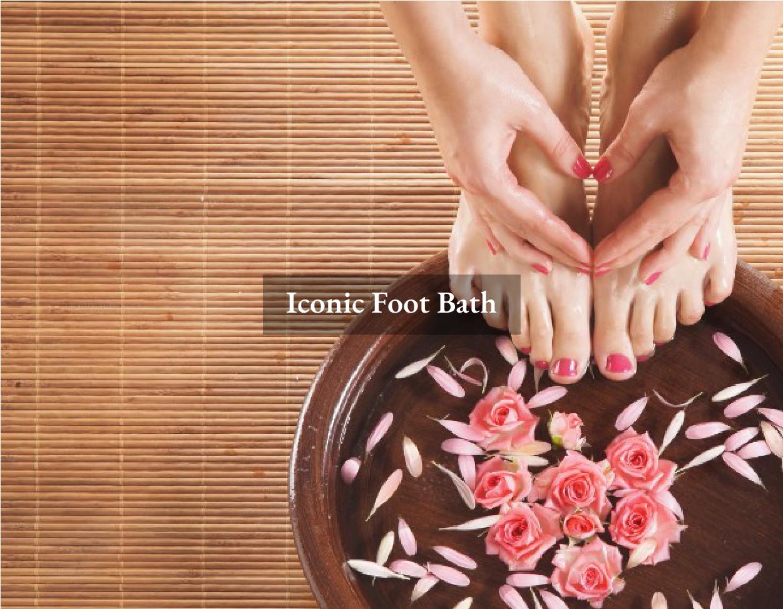 Iconic Foot Bath