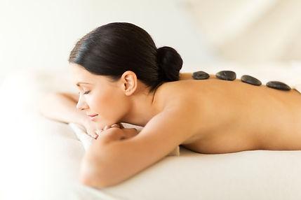 Attractive Woman Receiving Massage