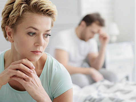 Low sex drive or libido affects self-esteem resulting in significant stress between partners.