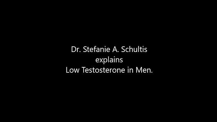 Low Testosterone Dr Stefanie Schultis Covington New Orleans