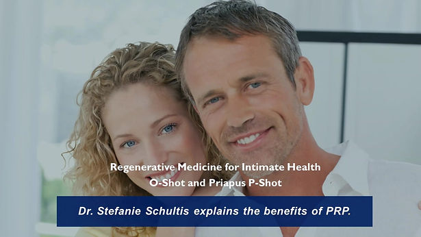 Dr Stefanie Schultis explains PRP therapy.