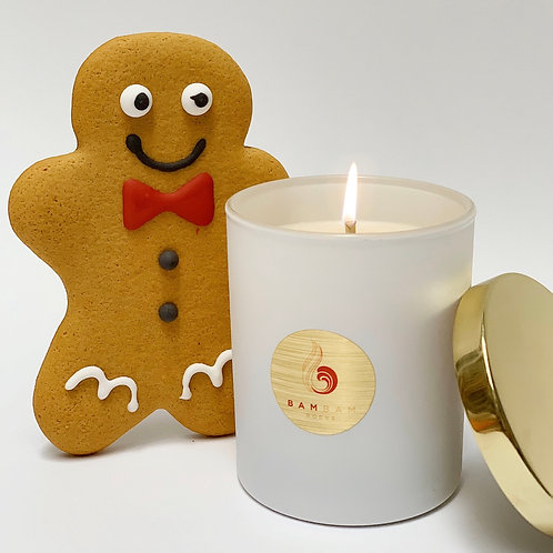 No. 1 Christmas Eve Gingerbread - Soy Candle • Reed Diffuser