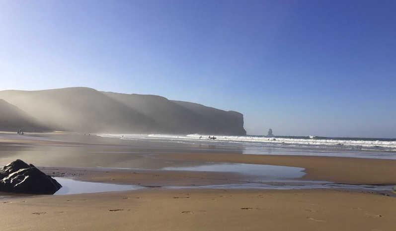 Early Morning Praia da Arrifana