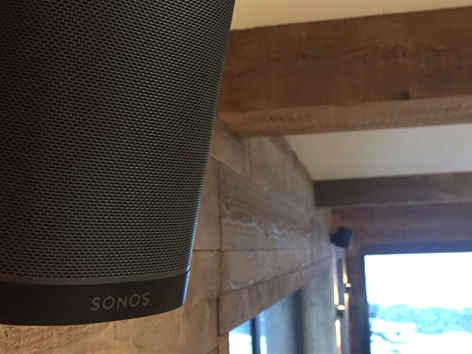 Sonos Sound System throughout