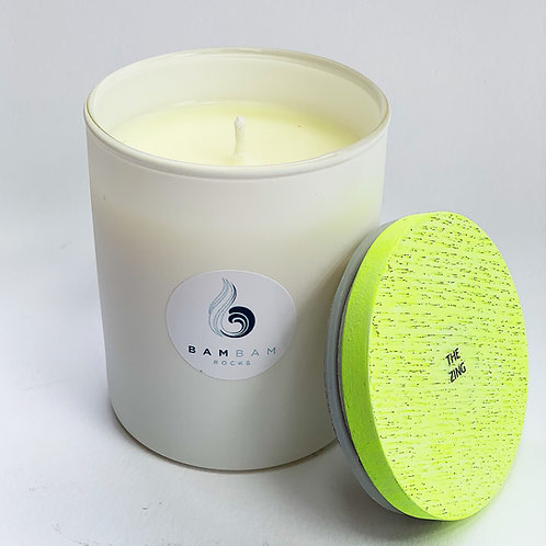 THE ZING - Luxury 20cl Soy Candle