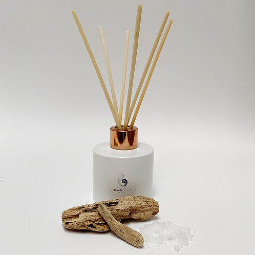 Smoked Driftwood & Sea Salt - 100ml Luxury Reed Diffuser