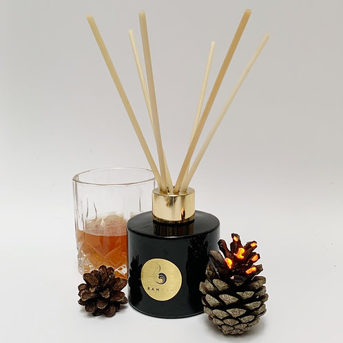 Woodsmoked Amaretto - 100ml Luxury Reed Diffuser