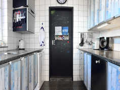 The Funky Galley Kitchen
