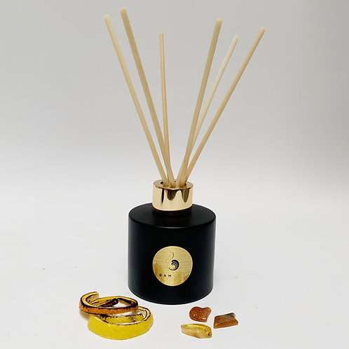 Burnt Amber & Citrus Embers - 100ml Luxury Reed Diffuser