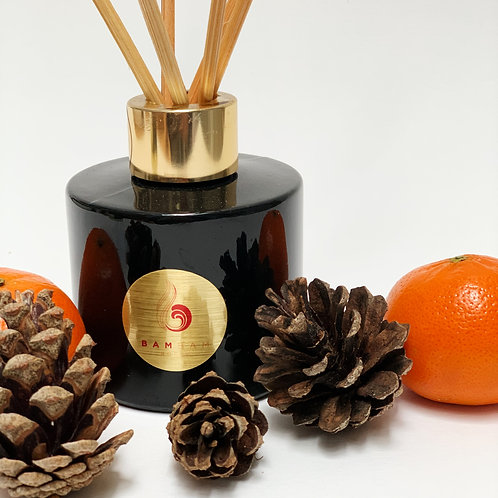 Burnished Orange & Woodsmoked Fir - 100ml Luxury Reed Diffuser
