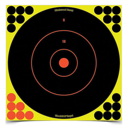"Shoot-N-C Target, Round Bullseye, 12"""