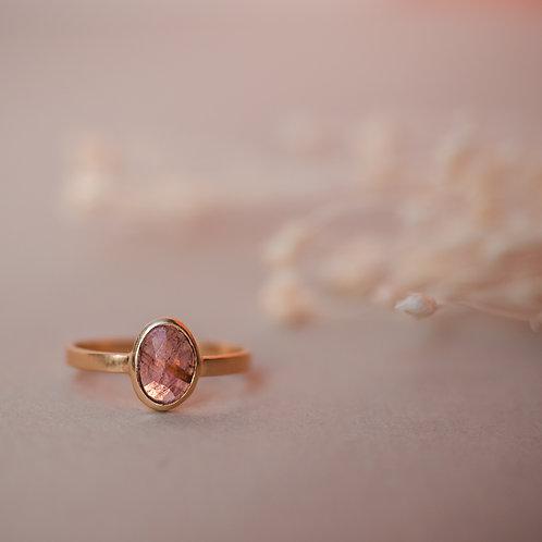 Bague LINA Tourmaline rose