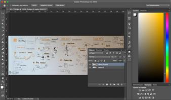 Facilitation graphique : Comment retoucher ses photos de fresque ?