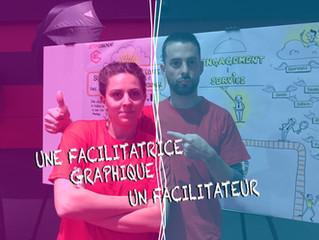 Facilitateur et facilitateur graphique, un duo de choc!