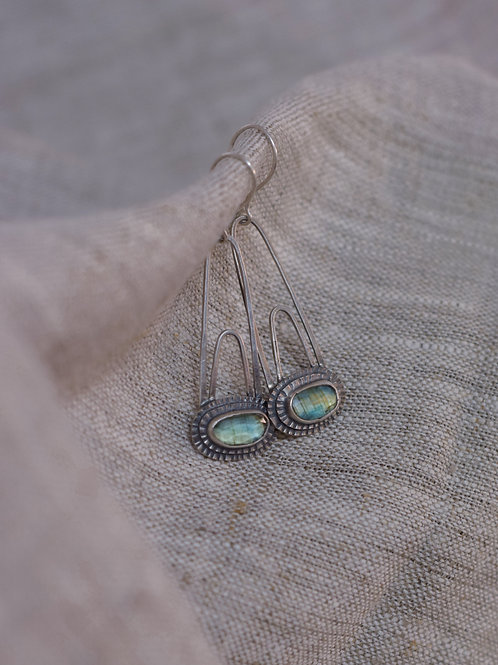 Boucles d'oreilles en argent - DORCHA