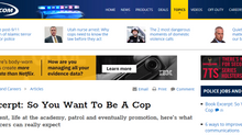 """So You Want To Be a Cop"" excerpted on PoliceOne.com"