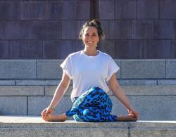Yogalehrerin Maria Reich