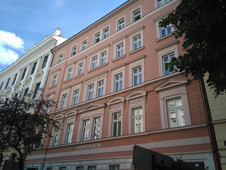 The refurbishment of Londýnská N° 32 building, Prague 2 finished!