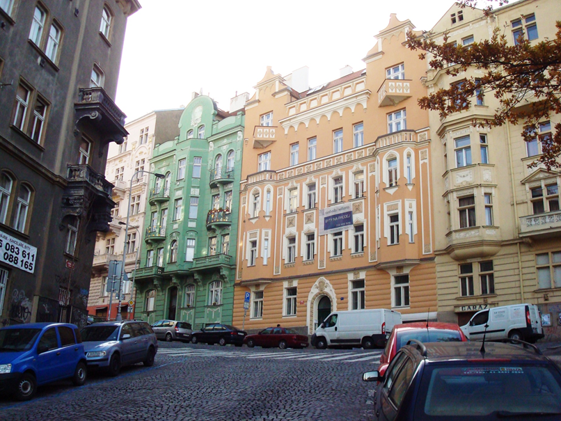 Vozová, Praha 2