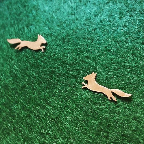 Swiftest Fox post earrings