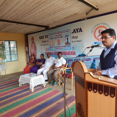Inauguration of YOGA & Chess Competition Organised by DDPUE & SVVPUC