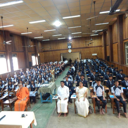 Students during Retreat Programme at RIMSE