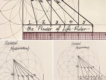 Nature's Ruler:  The Flower of Life-Tube Torus