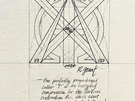 The Da Vinci Construction Box in ONE LETTER 'T'