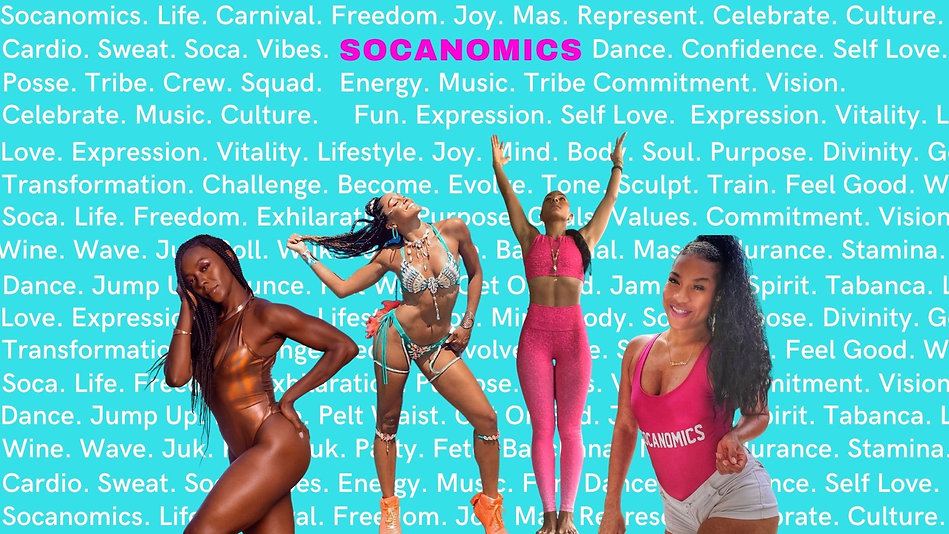 Socanomics. Life. Freedom. Joy. Mas. Cul