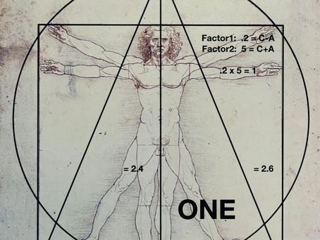 New DecryptionIn Leonardo da Vinci's Vitruvian Man