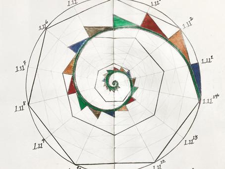 Heptagonal Logarithmic Spiral