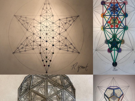 The 'Extended' Tree of Life Creates the Golden Ratio Lines of Metatron's Cube