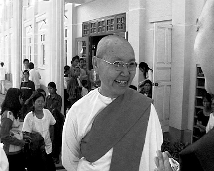 Burmese Sangha (front of Danasala).JPG