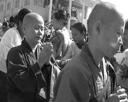 Sangha procession Three.JPG