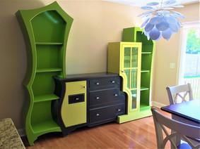 Custom Dust Furniture Piece