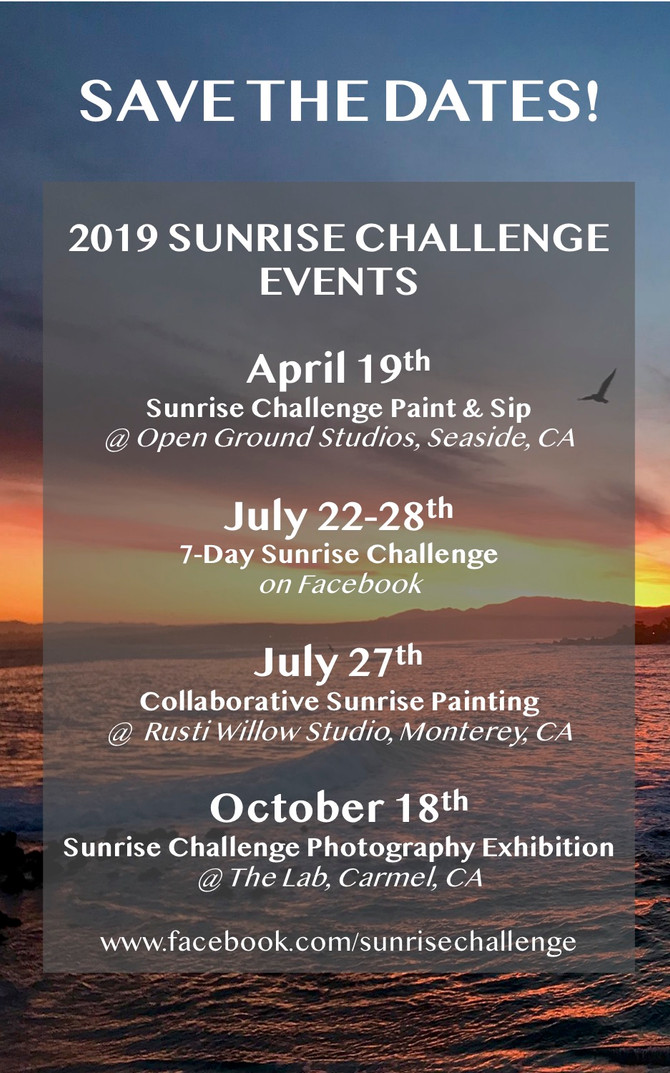 2019 Sunrise Challenge event line-up
