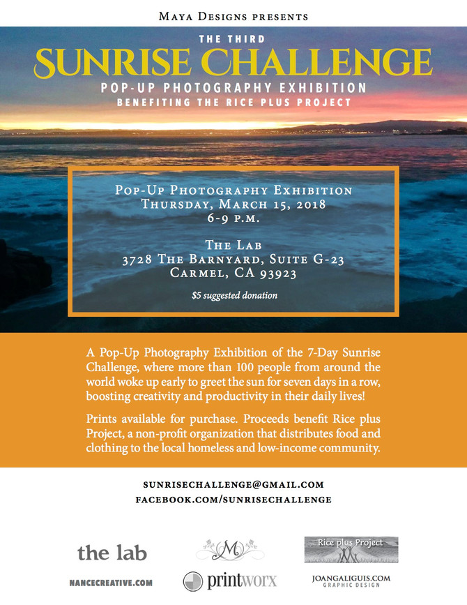 Sunrise Challenge Photography Exhbition